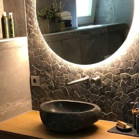 Mosaikfliesen aus Naturstein