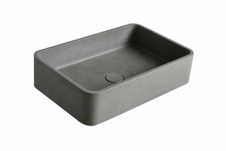 Beton Waschbecken natürlich