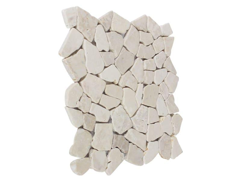 Mosaikfliesen Weiß 30x30x1 cm.
