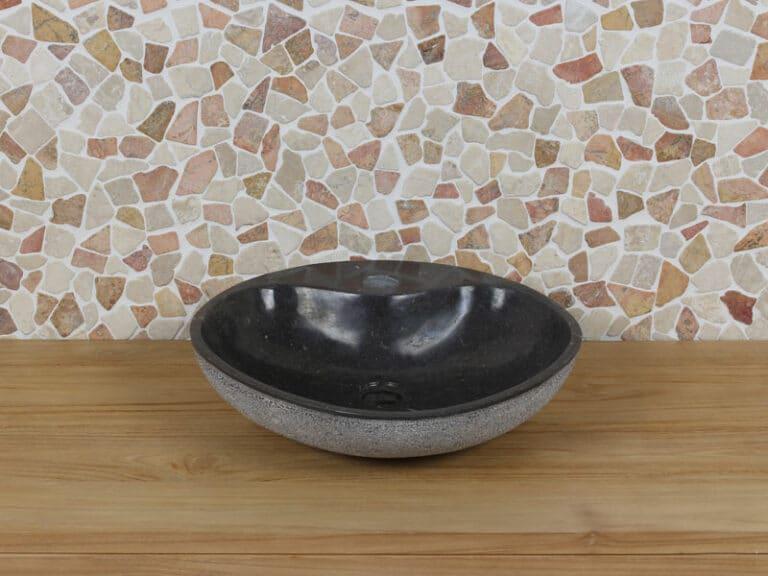 Waschschale aus Marmor