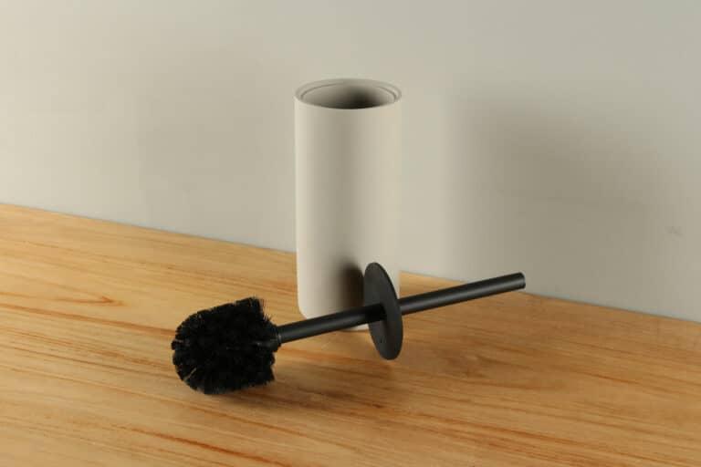 Toilettenbürstenhalter Matte Betonoptik Polyresin BE-AT003