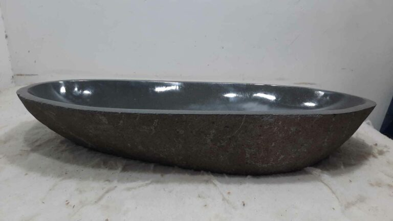 Waschbecken Flussstein RXXL0704