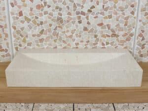 Marmor Waschbecken 100 cm BE-4001 LW/MK