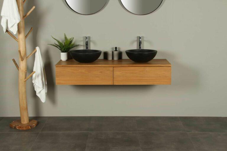 Waschtischunterschrank Hängeschrank Talang 140 cm mit Schubladen