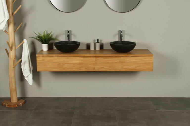 Waschtischunterschrank Hängeschrank Talang 170 cm mit Schubladen