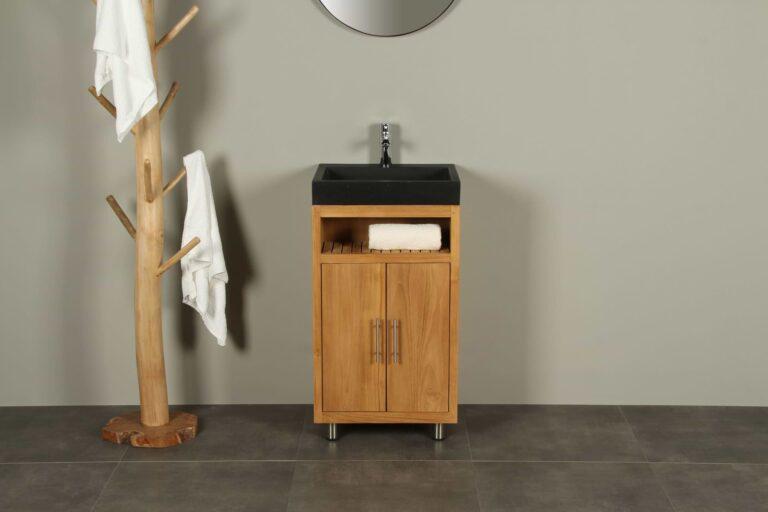 Raung Cabinet Terrazzo Waschbecken 50 cm mk