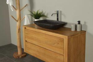 Waschtischunterschrank Hängeschrank Sukaria 120 cm mit Schubladen