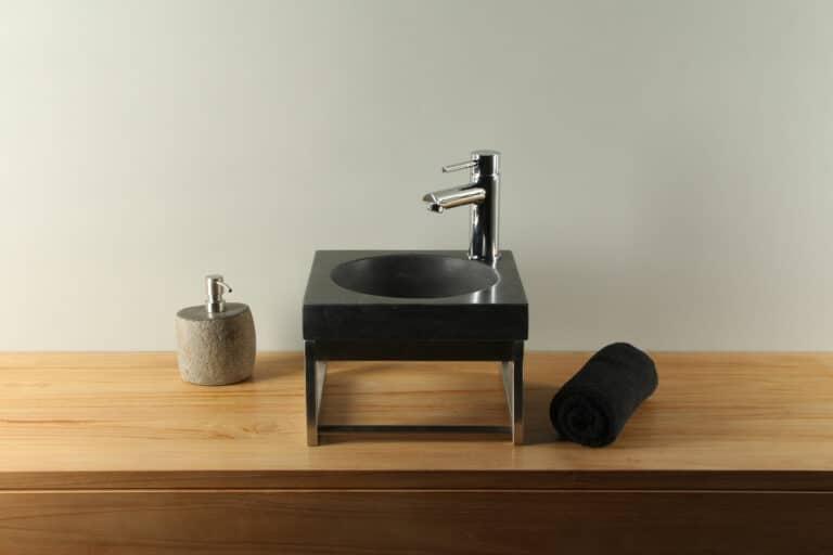 Aufsatzwaschbecken Hartstein 30 cm BE-022mk