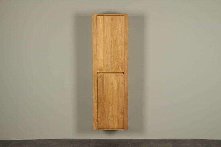 Hochschrank Hängeschrank Teakholz Sirung 165 cm