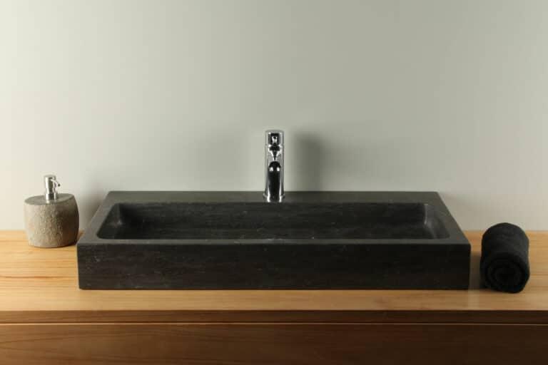 Hartstein Waschbecken Handwaschbecken 80 cm BE-007mk