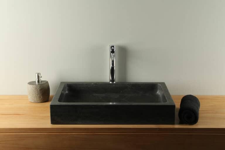 Hartstein Waschbecken 60 cm Handwaschbecken BE-904zk