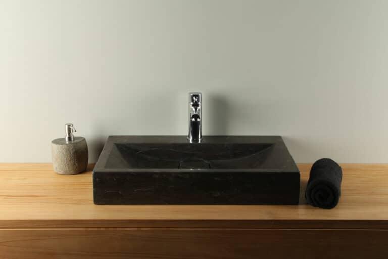 Aufsatzwaschbecken 60 cm BE-002mk Natursteinwaschbecken