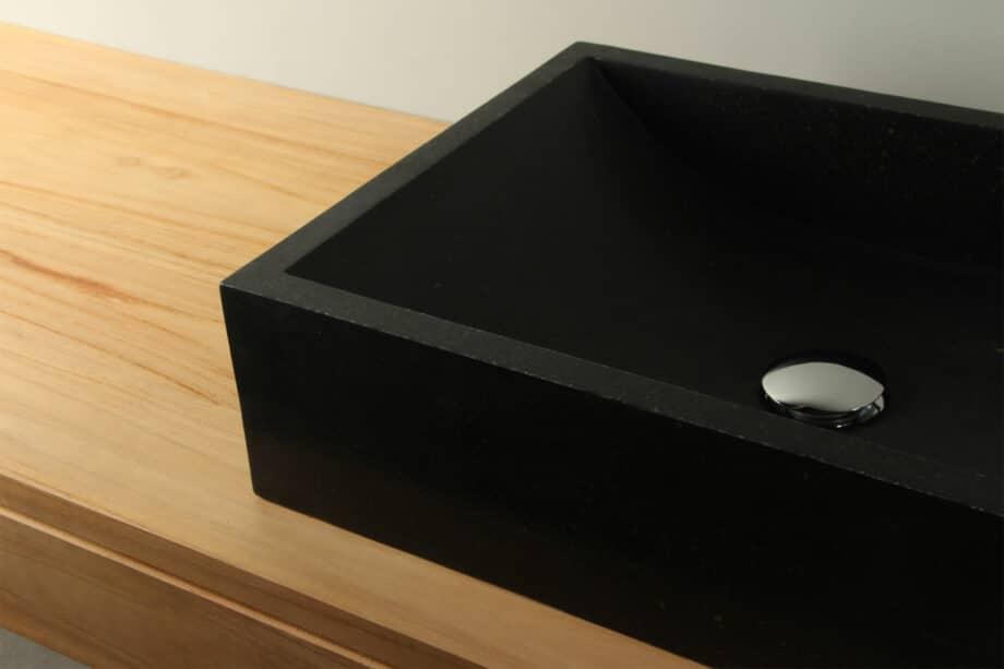 Aufsatz-waschbecken Terrazzo Waschbecken 50 cm TZS 015S