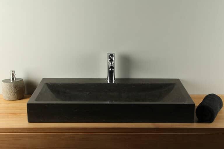 Waschplätze Hartstein Waschbecken 80 cm BE-036mk