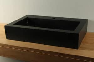 Aufsatzwaschbecken Waschschale Terrazzo 65 cm TZS 048S